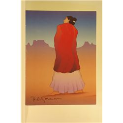 Beautiful Original Hand Signed Lithograph by R.C. Gorman