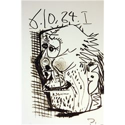 Exquisite Original Signed Lithograph by Artist Pable Picasso