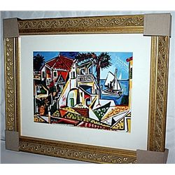 Picasso  Limited Edition - Mediterranian Landscape