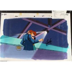 Animation Signed Cel Stan Lee X-MEN Background Original