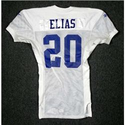 Game Worn Practice Jersey Keith Elias NY Giants NFL