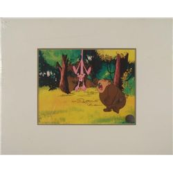 Pink Panther Original Production Cel & Backgrnd Gorilla