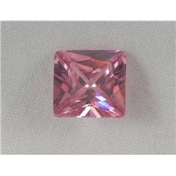 4.15 Ct. Natural Zircon Pink Square Gemstone