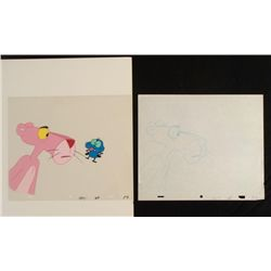 Cel Original Animation Not Cool Drawing Pink Panther