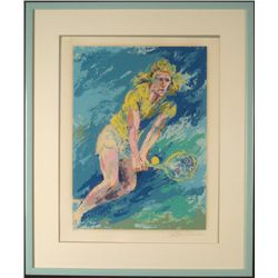 LeRoy Neiman Signed Ltd Ed Print Bjorn Borg