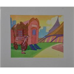 Pink Panther Original Production Cel &amp; Drawing Big Top