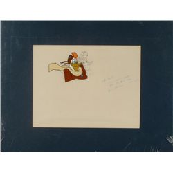 Ducktales Original Production Cel & Drawing Launchpad