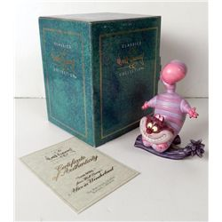 Cheshire Cat Disney Society Figure Sculpture 1994 MIB