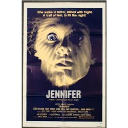 Jennifer Original 1 Sheet Horror Movie Poster 1978