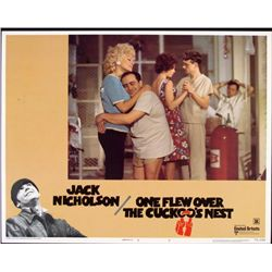 One Flew Over the Cuckoo's Nest Original Lobby Card
