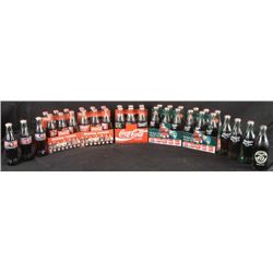 Cola-Cola Collector 37 Full Bottles Nascar World 6-Pks