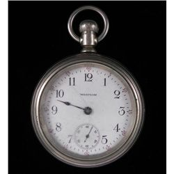 Waltham Antique Open Face Pocket Watch 1908