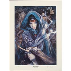 Hannah's Garden Brian Fround Signed Fantasy Art Print