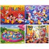 4 Disney Prints: Babies, Mickey Mouse & Friends