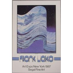 Frank Licsko NEW WAVE 1987 New York Art Expo Poster