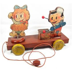 VINTAGE TIN CHILD'S PULL TOY