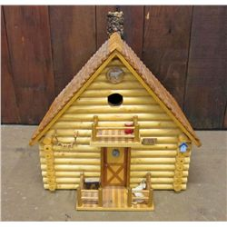 LARGE HAND MADE BIRD HOUSE