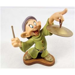 "WALT DISNEY CLASSICS ""DOPEY"" SCULPTURE IN ORIGNAL BOX W/ COA"