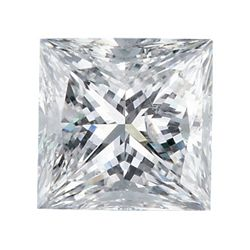 Certified Princess Diamond 1.0 Carat F, SI3 EGL ISRAEL