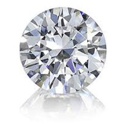 Certified Round Diamond 0.42 ct, F,SI1, EGL ISRAEL