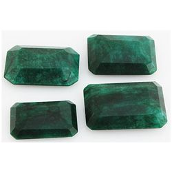 Emerald 347.5ct Loose Gemstone Mix Sizes Emerald Cut