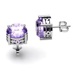 Tanzanite 2.50ctw Earring 14kt White Gold