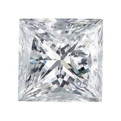 Certified Princess Diamond 0.52 Carat D, VVS2 GIA