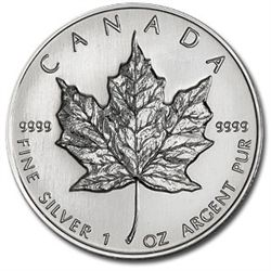 1 oz Silver Maple Leaf Bullion