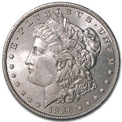1886 Morgan Silver Dollar UNC