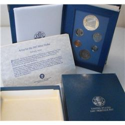 1987 Prestige Proof Set