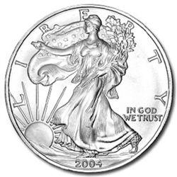 Silver Eagle Bullion Coin- Random