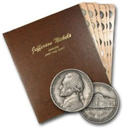 Jefferson Nickel set in Dansco Holder 38-64