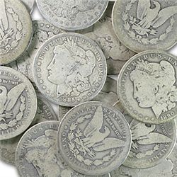 (20) Morgan Silver Dollars from larger cache