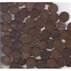 100 Various Date Indian Head Cents