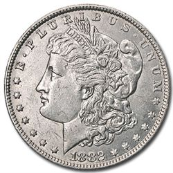 1882 O Uncirculated Morgan Silver Dollar