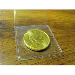 1 oz Gold Maple Leaf Coin - Random