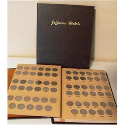 Jefferson Nickel Set 1938-64 In Holder