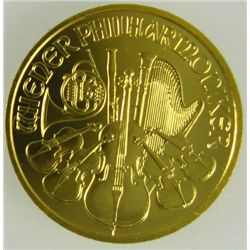 1 oz Gold Bullion - Austrian Philharmonic