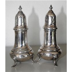 Footed Gorham Sterling S/P Shakers