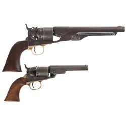 Two Colt Single Action Pistols