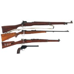 Collector's Lot of Four Firearms