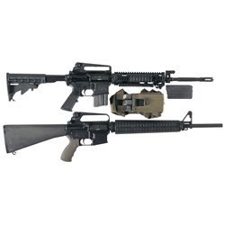 Two Semi-Automatic Rifles