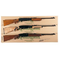 Three Boxed Remington Rifles