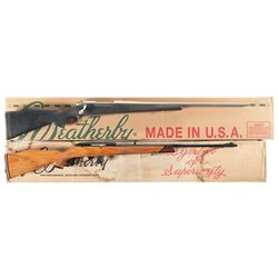 Two Boxed Weatherby Rifles