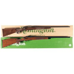 Two Boxed Remington Bolt Action Rifles