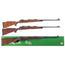 Three Remington 700 Bolt Action Rifles