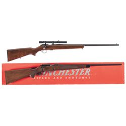 Two Winchester Bolt Action Rifles
