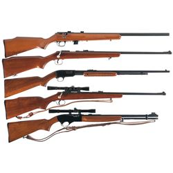 Five Sporting Rifles