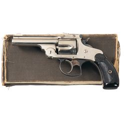Smith & Wesson .38 Double Action 3rd Model Revolver with Box