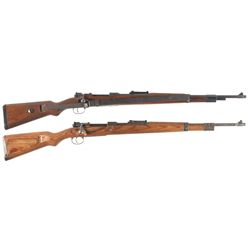 Two K98 Bolt Action Rifles